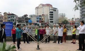 Tập huấn chuyên môn về luyện tập dụng cụ TDTT ngoài trời