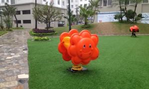 Sân chơi trẻ em trong khu nhà ở xã hội ECOHOME1