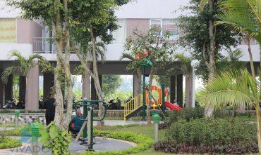 Sân chơi vận động trẻ em – KĐT Đặng Xá